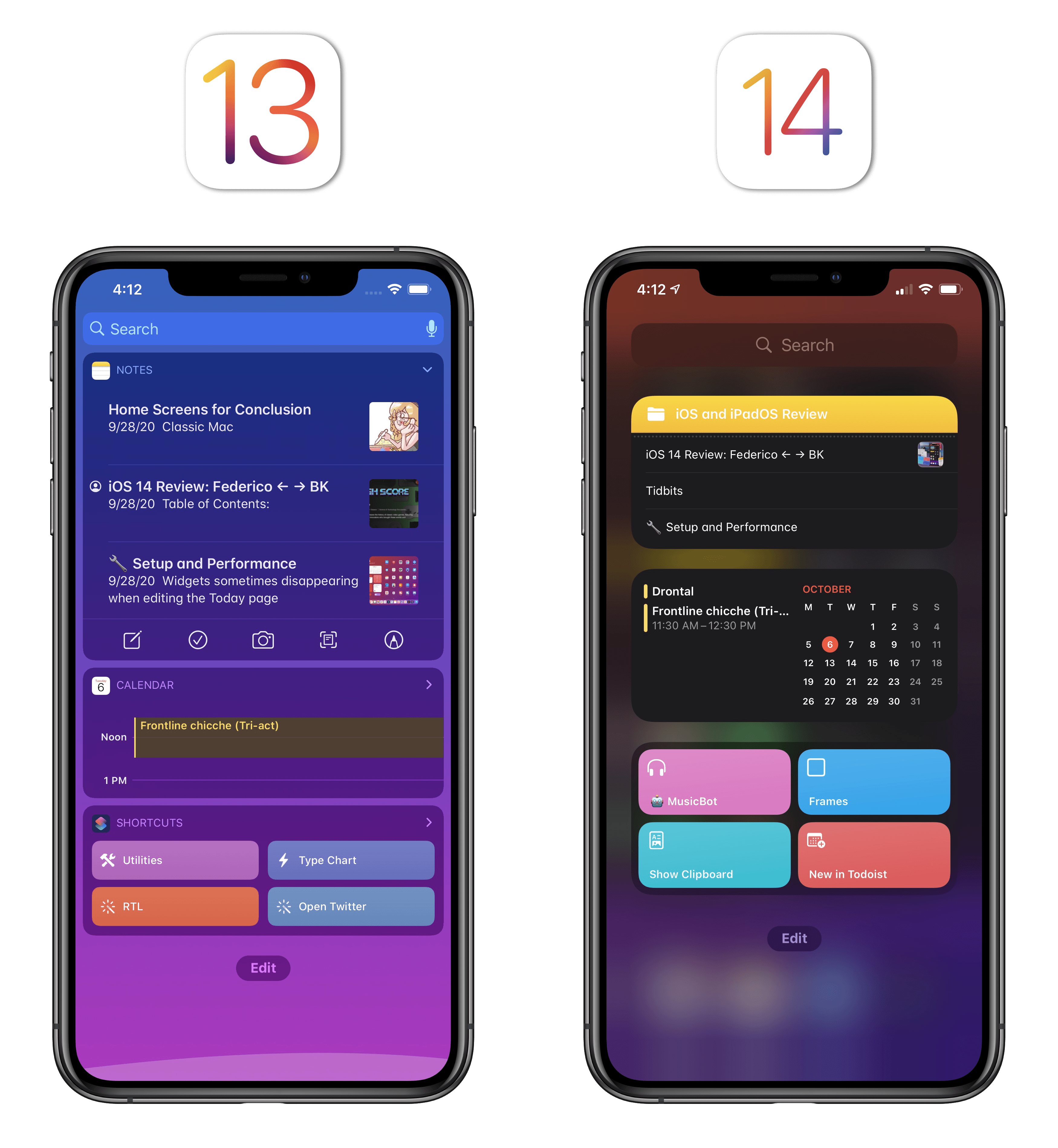 Widgets in iOS 14 can use more complex layouts thanks to SwiftUI.