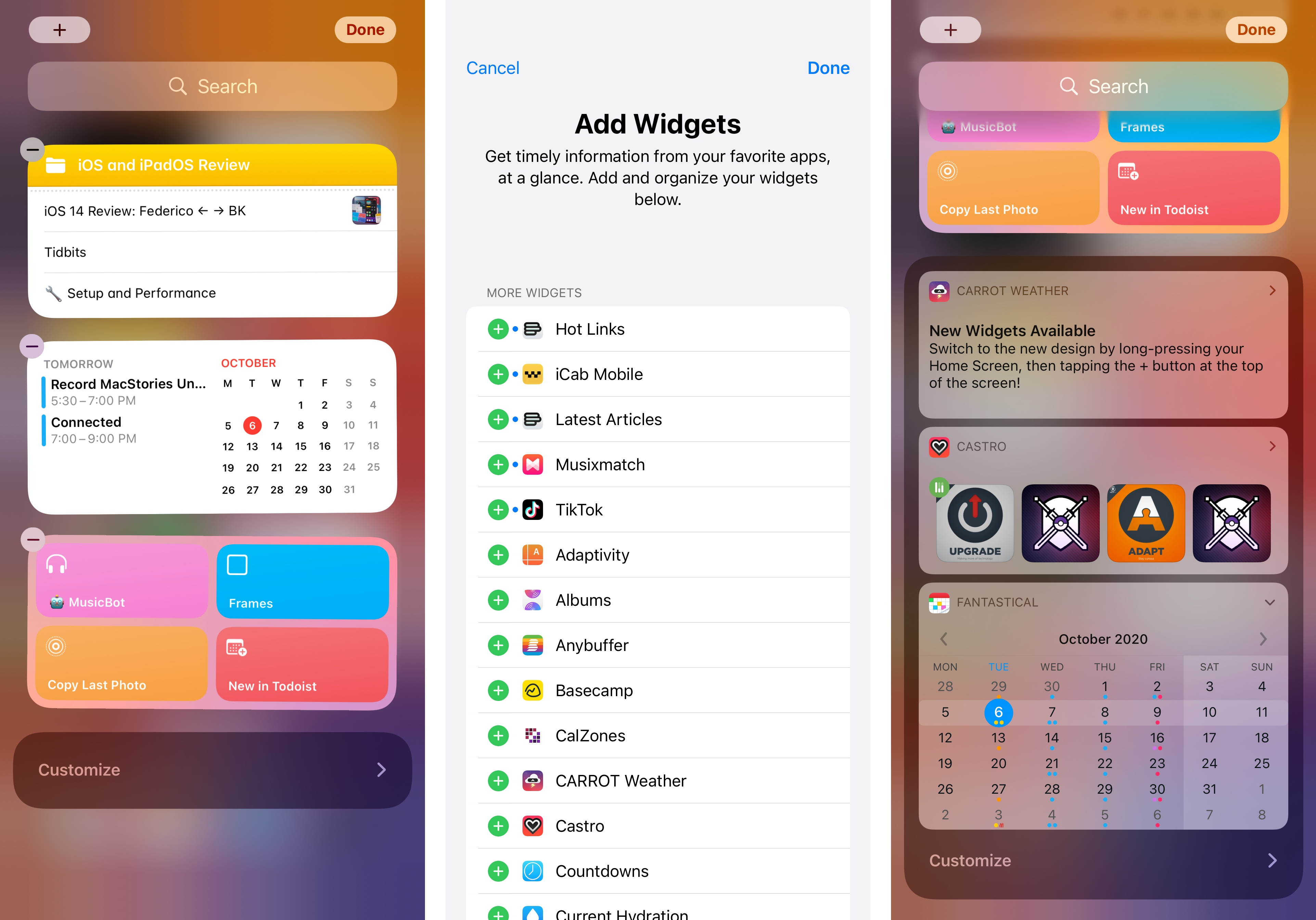 You can still install and use legacy widgets in iOS 14.